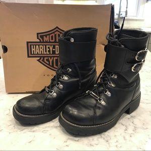 Harley-Davidson Trooper Boots Black Size 10
